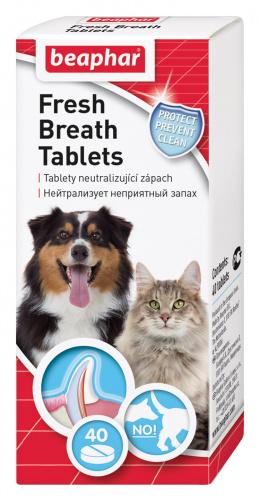 Tablety pro svěží dech s chlorofylem Beaphar 40 ks