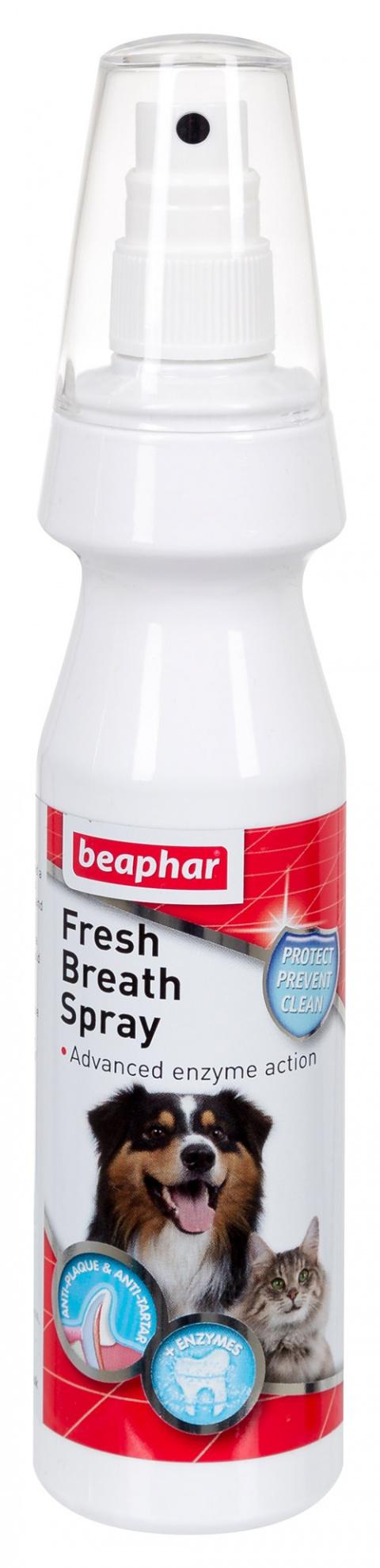 Sprej pro svěží dech Beaphar Fresh Breath 150 ml title=