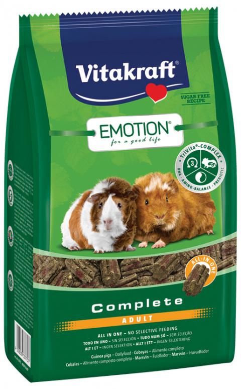 Vitakraft Emotion complete morče adult 800g