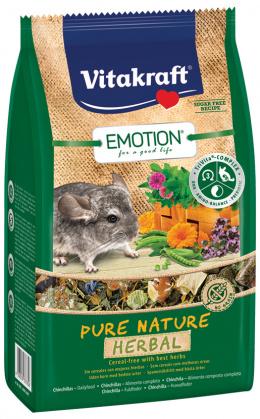 Vitakraft Emotion herbal činčila 600g