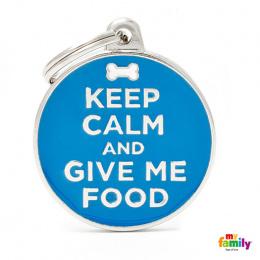 Známka My Family Charms popis KEEP CALM/FOOD