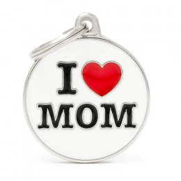 Známka My Family Charms popis I LOVE MOM