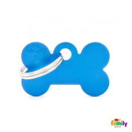 Známka My Family Basic kost malá modrá