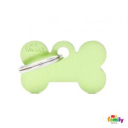 Známka My Family Basic kost malá zelená