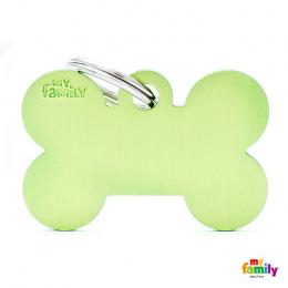 Známka My Family Basic kost velká zelená