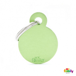 Známka My Family Basic kolečko malé zelené