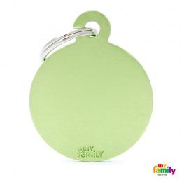 Známka My Family Basic kolečko velké zelené