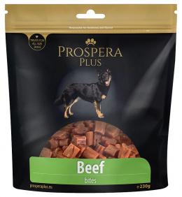 Pochoutka Prospera Plus kousky z hovězího masa 230g