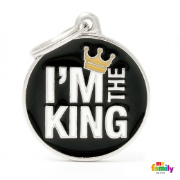 Známka My Family Charms popis KING