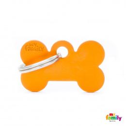 Známka My Family Basic kost malá oranžová