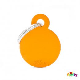 Známka My Family Basic kolečko malé oranžové