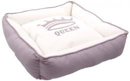 Pelech Dog Fantasy QUEEN Square 55x55x18cm lila
