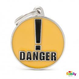 Známka My Family Charms DANGER