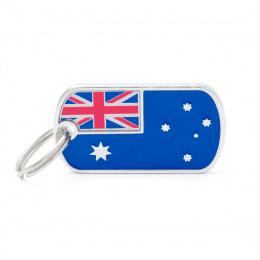 Známka My family vlajka Austrálie