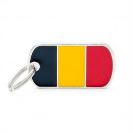 Známka My Family vlajka Belgie