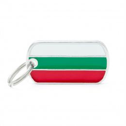 Známka My Family vlajka Bulharsko