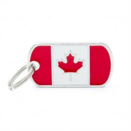 Známka My Family vlajka Kanada