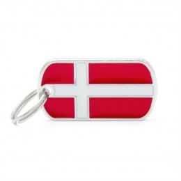 Známka My Family vlajka Dánsko