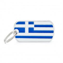 Známka My Family vlajka Řecko