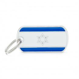 Známka My Family vlajka Izrael