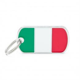 Známka My Family vlajka Itálie
