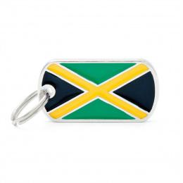 Známka My Family vlajka Jamajka