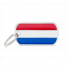 Známka My Family vlajka Nizozemsko