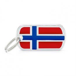 Známka My Family vlajka Norsko