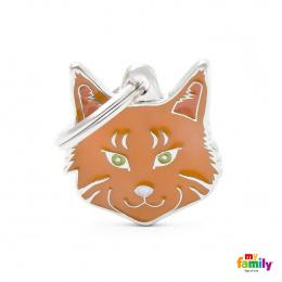 Známka My Family Friends Mainská mývalí kočka červená