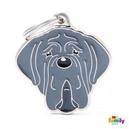 Známka My Family Friends Neapolský mastif