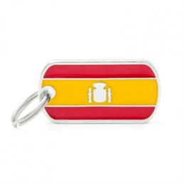Známka My Family vlajka Španělsko