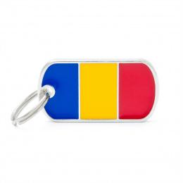 Známka My Family vlajka Rumunsko
