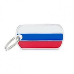 Známka My Family vlajka Rusko
