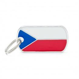 Známka My Family vlajka Česká republika