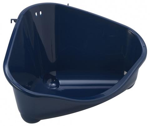 Toaleta Small Animal rohová 49,4x33,5x26,2cm title=