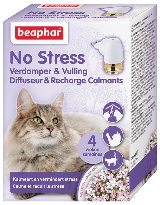 Sada pro kočky s difuzérem Beaphar No Stress 30 ml