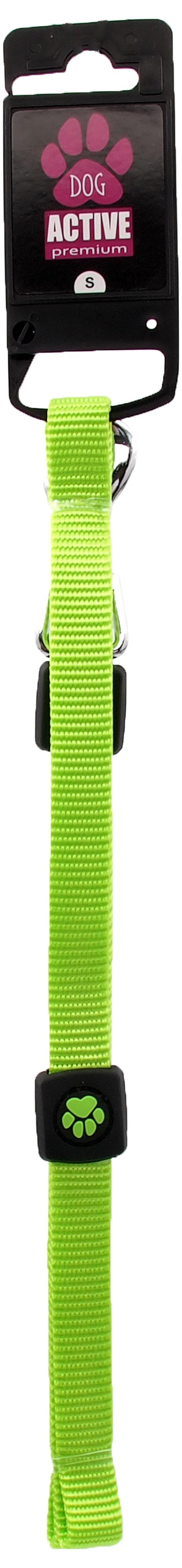 Vodítko Active Dog Premium S limetka 1,5x120cm