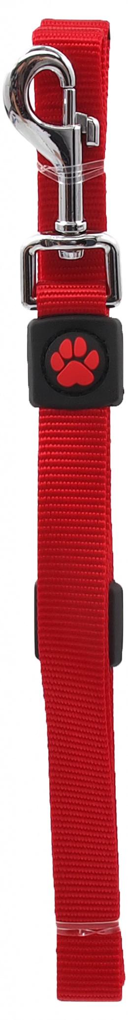 Vodítko Active Dog Premium M červené 2x120cm