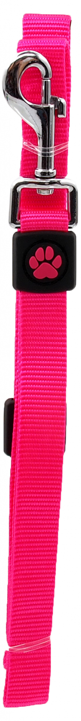 Vodítko Active Dog Premium M růžové 2x120cm