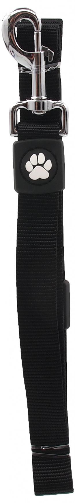 Vodítko Active Dog Premium L černé 2,5x120cm