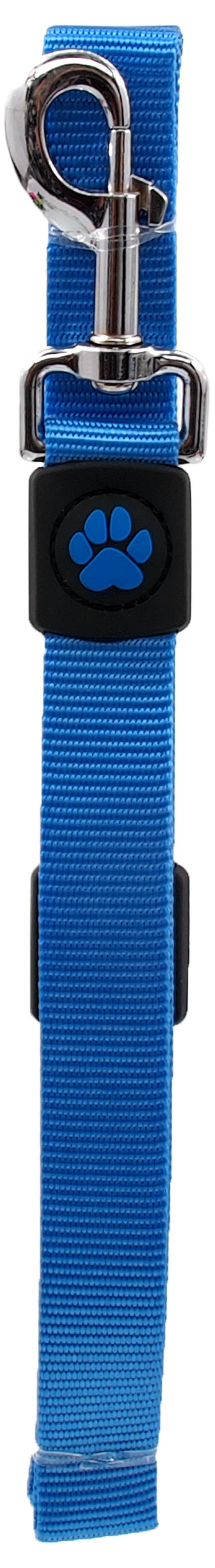 Vodítko Active Dog Premium L modré 2,5x120cm