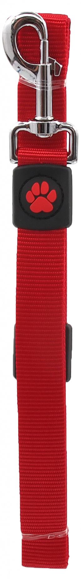 Vodítko Active Dog Premium L červené 2,5x120cm