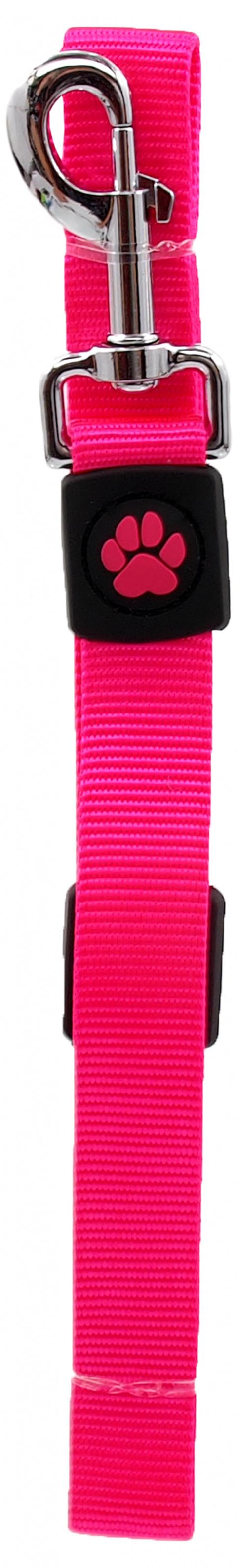 Vodítko Active Dog Premium L růžové 2,5x120cm