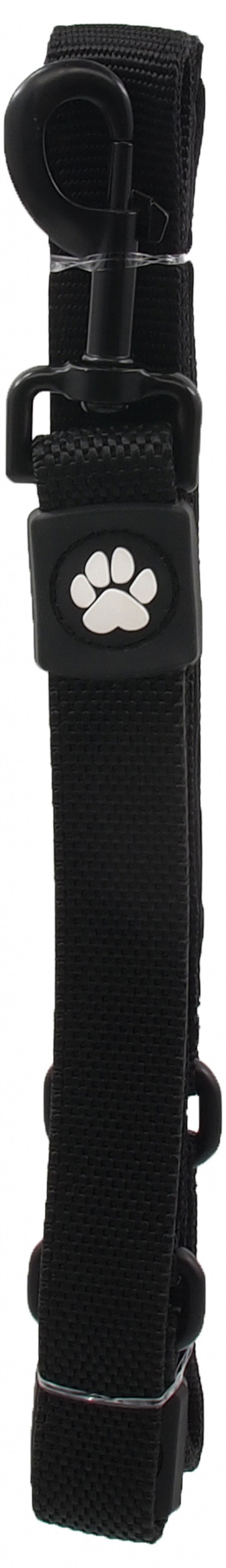 Vodítko Active Dog Bungee Neoprene L černé 2,5x120cm