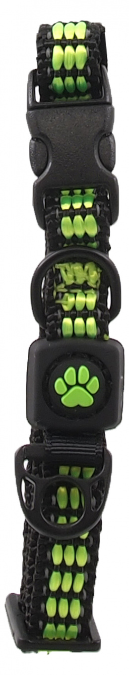 Obojek Active Dog Strong XS limetka 1x21-30cm