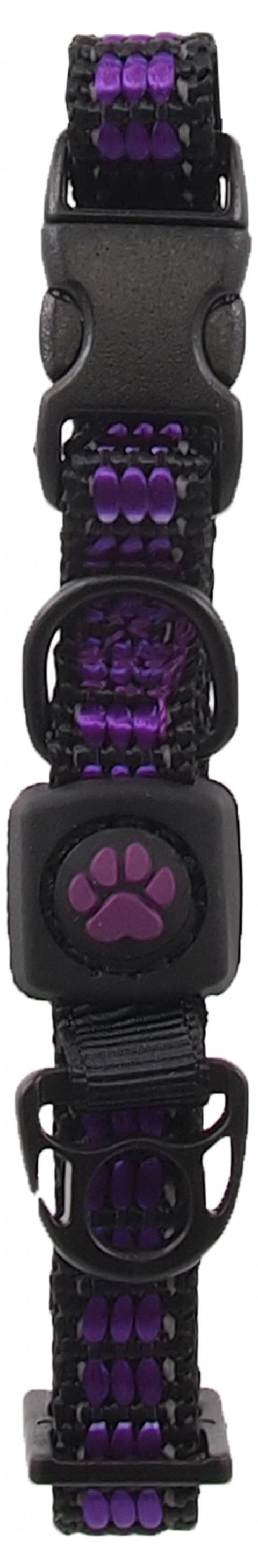 Obojek Active Dog Strong XS fialový 1x21-30cm