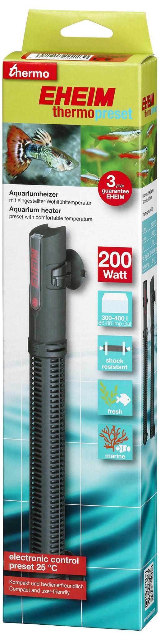 Topítko EHEIM Thermopreset 200W,300-400l