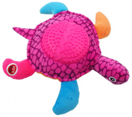 Hračka Let´s Play želva fialová 22cm