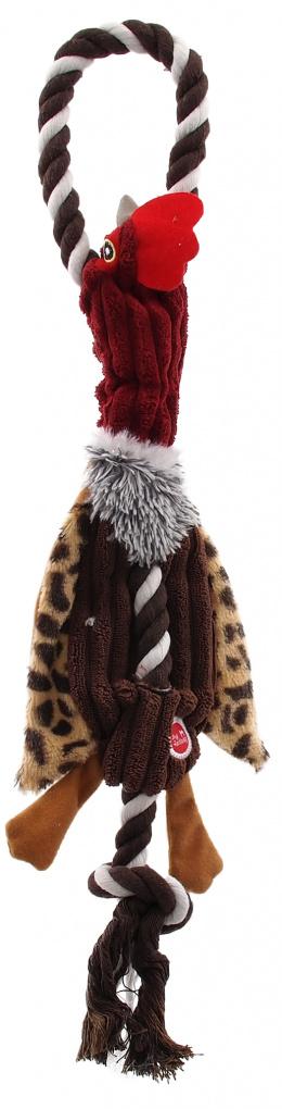 Hračka Dog Fantasy Skinneeez s provazem kachna 35cm