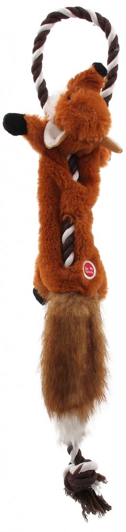 Hračka Dog Fantasy Skinneeez s provazem liška 57,5cm